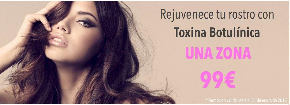 promocion toxina botulínica