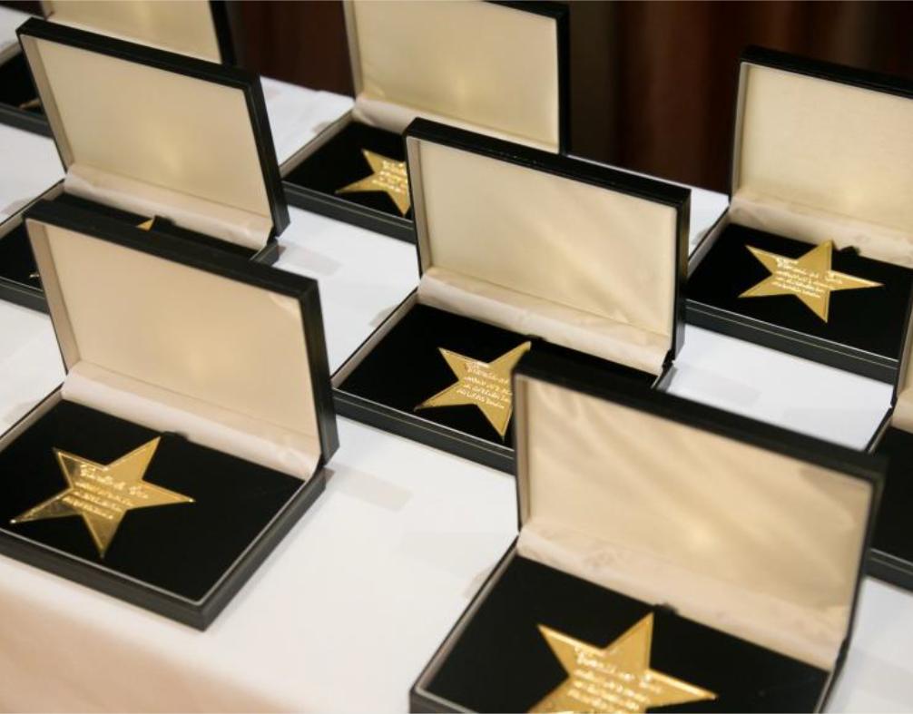 galardon estrella de oro