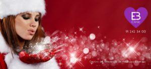 Tratamiento especial fiestas de Navidad. Luce brillante y natural