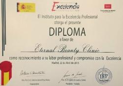 Premio Excelencia profesional